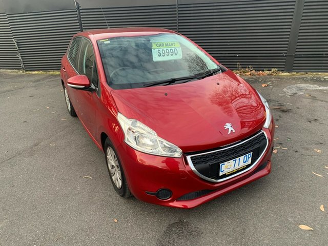 Used Peugeot 208 A9 Active, 2012 Peugeot 208 A9 Active Red 5 Speed Manual Hatchback