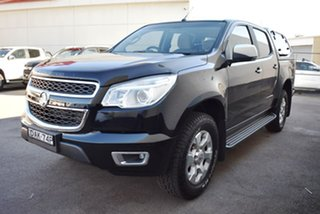2015 Holden Colorado RG MY15 LTZ Crew Cab Black 6 Speed Sports Automatic Utility.