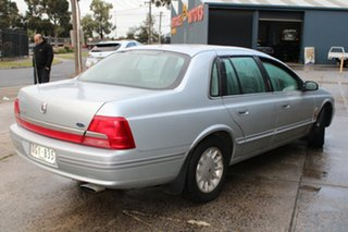 2000 Ford Fairlane AU Ghia Silver 4 Speed Automatic Sedan