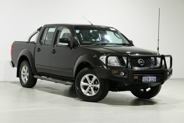 Used Nissan Navara D40 ST (4x4), 2012 Nissan Navara D40 ST (4x4) Black 5 Speed Automatic Dual Cab Pick-up