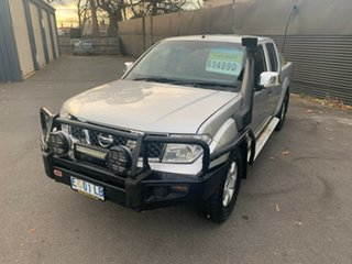 2009 Nissan Navara D40 ST-X Silver Lightning 5 Speed Automatic Utility.