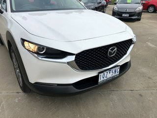 2020 Mazda CX-30 DM2W7A G20 SKYACTIV-Drive Evolve Snowflake White Pearl 6 Speed Sports Automatic