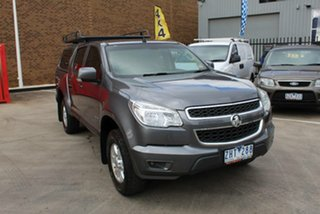 2012 Holden Colorado RG LT (4x4) Grey 6 Speed Automatic Crew Cab Pickup.