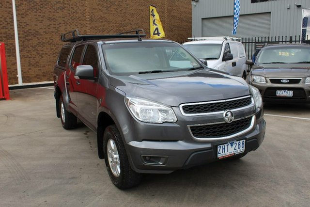 Used Holden Colorado RG LT (4x4), 2012 Holden Colorado RG LT (4x4) Grey 6 Speed Automatic Crew Cab Pickup