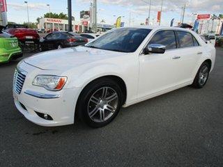 2012 Chrysler 300 LX MY12 C E-Shift Luxury White 8 Speed Sports Automatic Sedan.