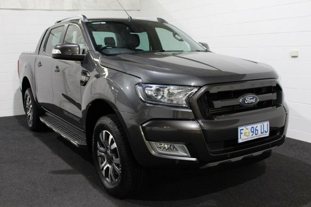 Used Ford Ranger PX MkII Wildtrak Double Cab, 2017 Ford Ranger PX MkII Wildtrak Double Cab Magnetic 6 Speed Manual Utility