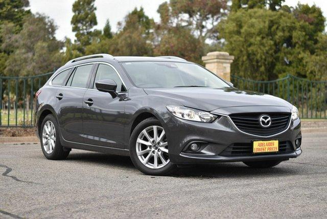 Used Mazda 6 GL1031 Sport SKYACTIV-Drive, 2017 Mazda 6 GL1031 Sport SKYACTIV-Drive Grey 6 Speed Sports Automatic Wagon