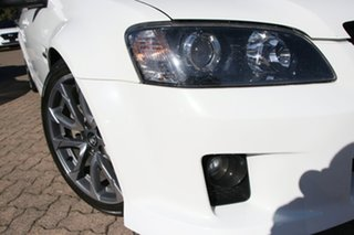 2010 Holden Commodore VE II SS-V White 6 Speed Manual Utility.