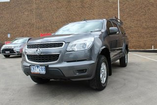 2012 Holden Colorado RG LT (4x4) Grey 6 Speed Automatic Crew Cab Pickup