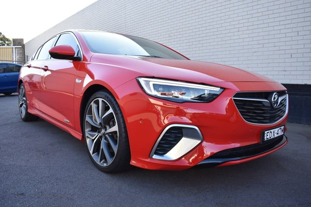 Used Holden Commodore ZB MY18 VXR Liftback AWD, 2018 Holden Commodore ZB MY18 VXR Liftback AWD Red 9 Speed Sports Automatic Liftback