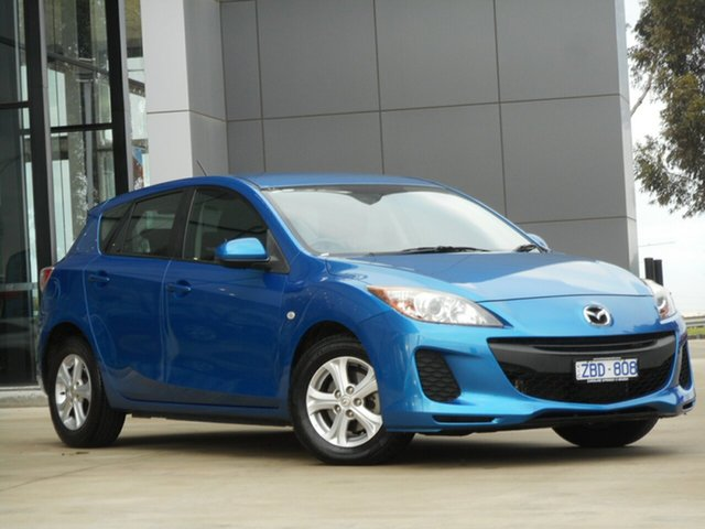 Used Mazda 3 BL10F2 Neo Activematic, 2012 Mazda 3 BL10F2 Neo Activematic 5 Speed Sports Automatic Hatchback