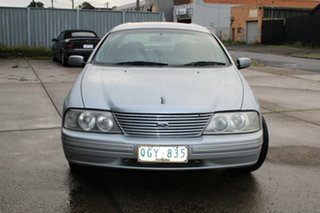 2000 Ford Fairlane AU Ghia Silver 4 Speed Automatic Sedan.