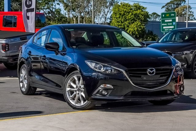 Used Mazda 3 BM5236 SP25 SKYACTIV-MT, 2014 Mazda 3 BM5236 SP25 SKYACTIV-MT Black 6 Speed Manual Sedan