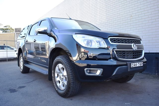 Used Holden Colorado RG MY15 LTZ Crew Cab, 2015 Holden Colorado RG MY15 LTZ Crew Cab Black 6 Speed Sports Automatic Utility
