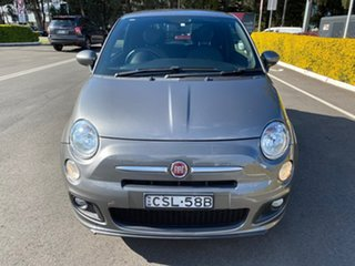 2013 Fiat 500 Series 1 S Grey Manual.