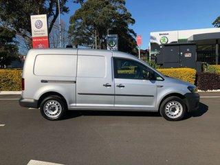 2019 Volkswagen Caddy 2KN MY20 TSI220 Maxi DSG Silver 7 Speed Sports Automatic Dual Clutch Van.