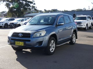 2010 Toyota RAV4 ACA33R MY09 CV Blue 4 Speed Automatic Wagon.