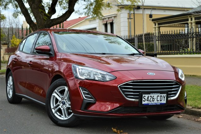 Used Ford Focus SA 2019.75MY Ambiente, 2019 Ford Focus SA 2019.75MY Ambiente Ruby Red 6 Speed Automatic Hatchback