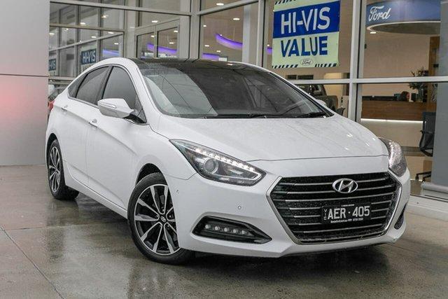 Used Hyundai i40 VF3 Premium, 2015 Hyundai i40 VF3 Premium White 6 Speed Sports Automatic Sedan