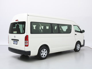 2017 Toyota HiAce KDH223R MY16 Commuter White Bus