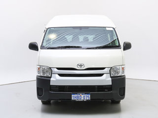 2017 Toyota HiAce KDH223R MY16 Commuter White Bus.