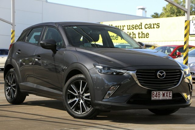 Used Mazda CX-3 DK2W76 sTouring SKYACTIV-MT, 2016 Mazda CX-3 DK2W76 sTouring SKYACTIV-MT Grey 6 Speed Manual Wagon