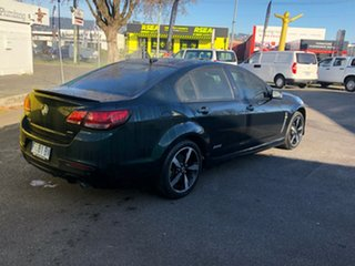 2016 Holden Commodore VF II MY16 SV6 Black Dark Green 6 Speed Sports Automatic Sedan