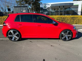 2014 Volkswagen Golf VII MY15 R DSG 4MOTION Red 6 Speed Sports Automatic Dual Clutch Hatchback