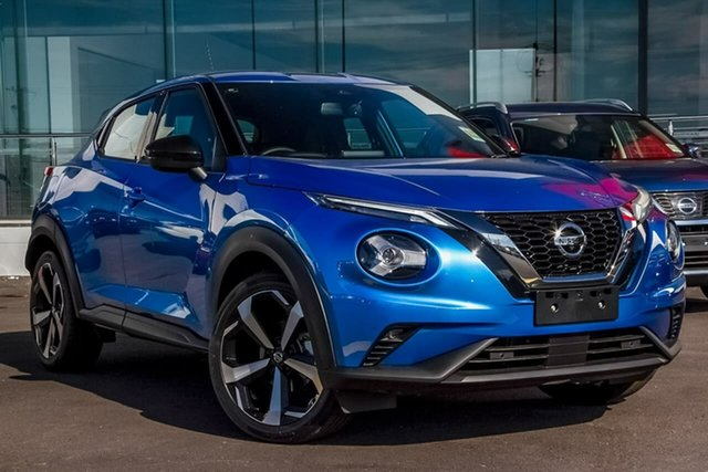 New Nissan Juke F16 ST-L DCT 2WD, 2020 Nissan Juke F16 ST-L DCT 2WD Vivid Blue 7 Speed Sports Automatic Dual Clutch Hatchback