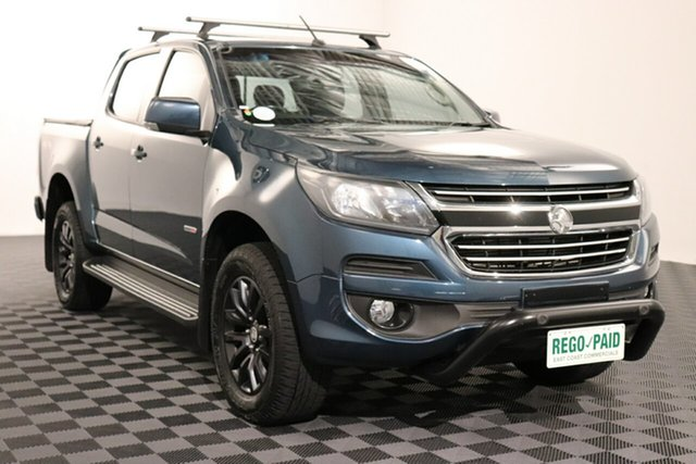 Used Holden Colorado RG MY17 LT Pickup Crew Cab, 2016 Holden Colorado RG MY17 LT Pickup Crew Cab Blue Mountain 6 speed Automatic Utility