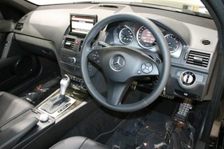 2010 Mercedes-Benz C250 W204 MY10 CGI Avantgarde Black 5 Speed Auto Tipshift Sedan