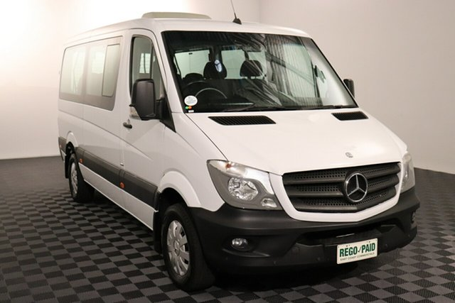 Used Mercedes-Benz Sprinter NCV3 316CDI Low Roof MWB 7G-Tronic Transfer, 2015 Mercedes-Benz Sprinter NCV3 316CDI Low Roof MWB 7G-Tronic Transfer White 7 speed Automatic Bus
