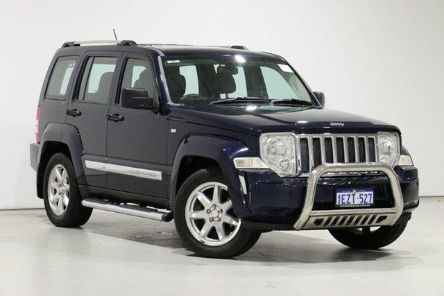 Used Jeep Cherokee KK MY12 Limited (4x4), 2012 Jeep Cherokee KK MY12 Limited (4x4) Blue 4 Speed Automatic Wagon