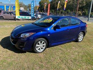 2009 Mazda 3 BK10F2 MY08 Maxx Sport Blue 4 Speed Sports Automatic Sedan.