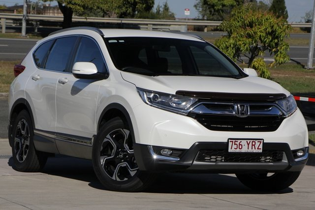 Used Honda CR-V RW MY19 VTi-S FWD, 2019 Honda CR-V RW MY19 VTi-S FWD White 1 Speed Constant Variable Wagon