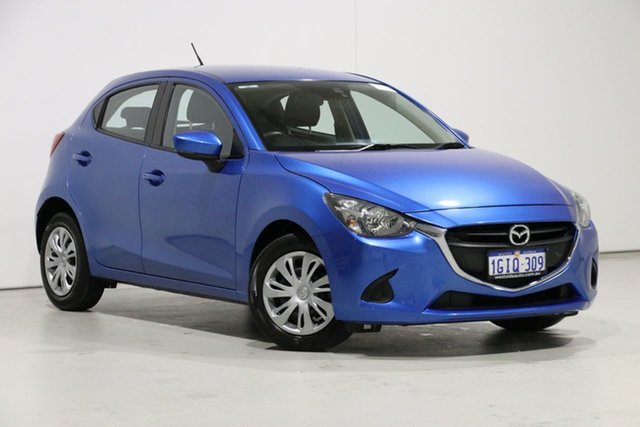 Demo Mazda 2 DJ MY17 Maxx, 2017 Mazda 2 DJ MY17 Maxx Blue 6 Speed Automatic Hatchback