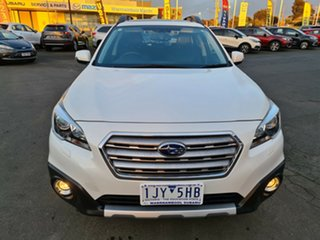 2016 Subaru Outback B6A MY17 2.5i CVT AWD Premium White 6 Speed Constant Variable Wagon.
