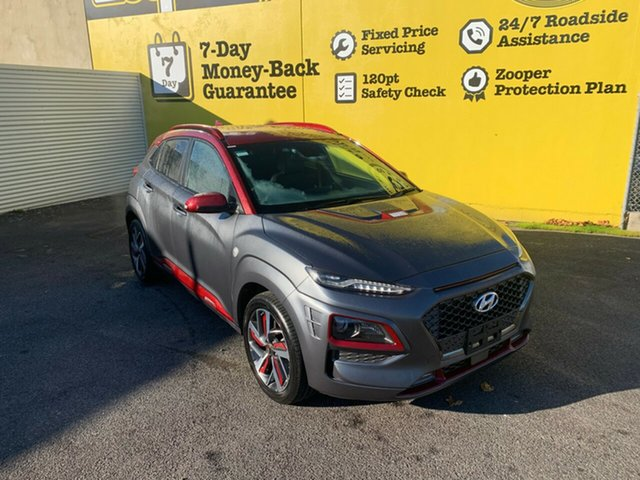 Used Hyundai Kona OS.2 MY19 Iron Man Edition D-CT AWD, 2019 Hyundai Kona OS.2 MY19 Iron Man Edition D-CT AWD Iron Man two-tone 7 Speed