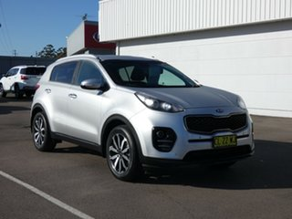2017 Kia Sportage QL MY17 SLi 2WD Silver 6 Speed Sports Automatic Wagon
