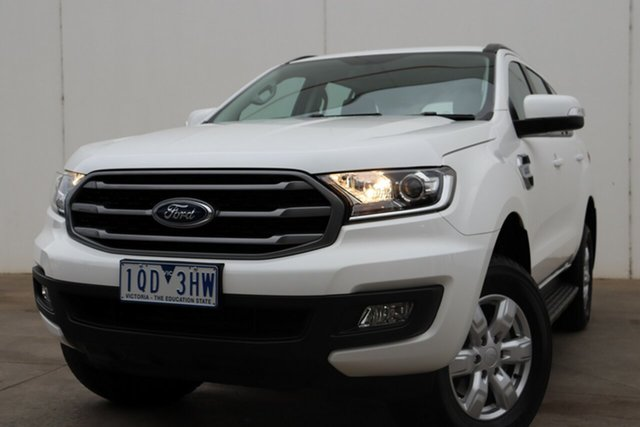 Used Ford Everest UA II 2019.00MY Ambiente, 2019 Ford Everest UA II 2019.00MY Ambiente White 6 Speed Automatic SUV