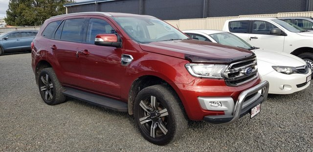 Used Ford Everest UA Trend 4WD, 2016 Ford Everest UA Trend 4WD Maroon 6 Speed Sports Automatic Wagon