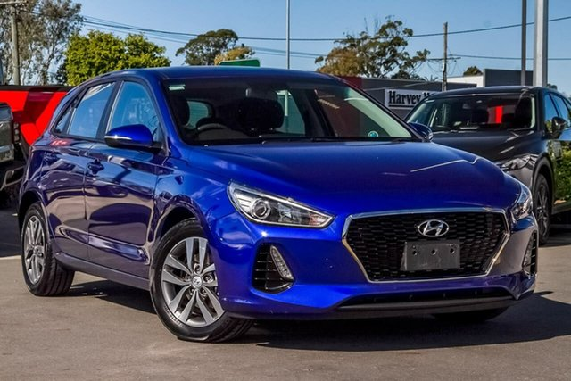 Used Hyundai i30 PD2 MY19 Active, 2019 Hyundai i30 PD2 MY19 Active Intense Blue 6 Speed Sports Automatic Hatchback