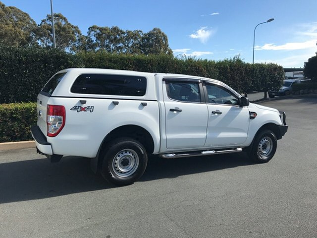 Used Ford Ranger PX MkII XL Double Cab, 2015 Ford Ranger PX MkII XL Double Cab White 6 speed Automatic Utility