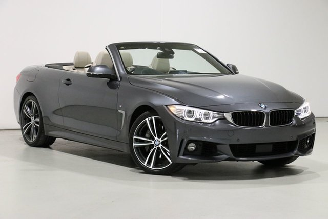 Demo BMW 440i F33 MY17 40I, 2017 BMW 440i F33 MY17 40I Mineral Grey 8 Speed Automatic Convertible