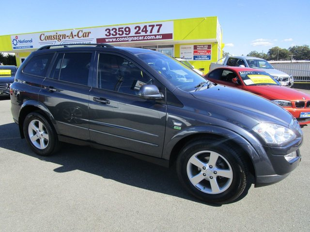 Used Ssangyong Kyron D100 MY09 M200 XDi, 2010 Ssangyong Kyron D100 MY09 M200 XDi Grey 5 Speed Manual Wagon