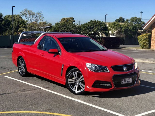 Used Holden Ute VF MY15 SV6 Ute, 2015 Holden Ute VF MY15 SV6 Ute Red 6 Speed Sports Automatic Utility