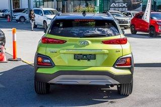 2019 Hyundai Kona OS.2 MY19 Highlander D-CT AWD Acid Yellow 7 Speed Sports Automatic Dual Clutch