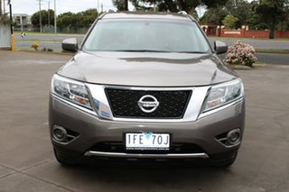 2013 Nissan Pathfinder R52 ST (4x4) Brown Continuous Variable Wagon.