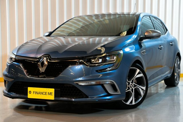 Used Renault Megane BFB GT EDC, 2016 Renault Megane BFB GT EDC Blue 7 Speed Sports Automatic Dual Clutch Hatchback
