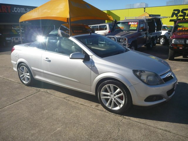 Used Holden Astra AH MY07 Twin TOP, 2006 Holden Astra AH MY07 Twin TOP Silver 4 Speed Automatic Convertible